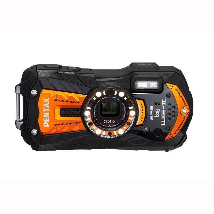 PENTAX WG2 GPS ORANGE pas cher Achat / Vente appareil photo