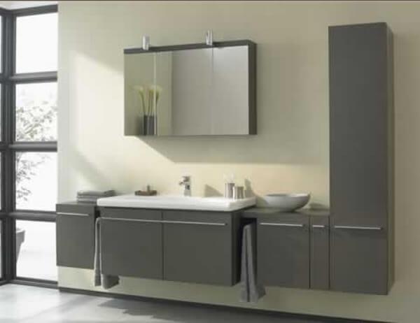 K2215EG+lavabo 100cm K072801+Armoire toilette K2219EG+Colonne d