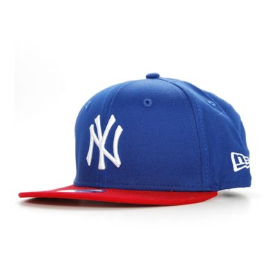 NEW ERA Enfant Snapback NY YANKEES Block Bleu Rouge Casquette Kids