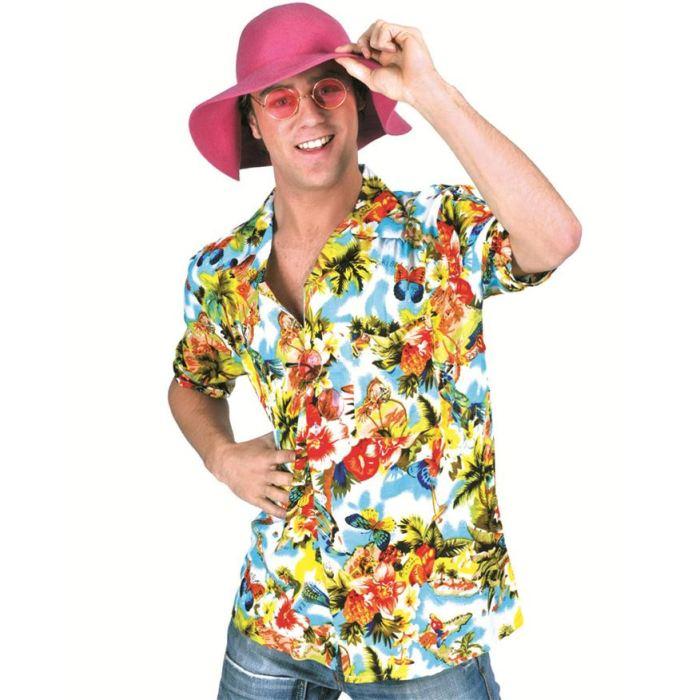 Chemise Fleurs Hawaienne Multico? Achat / Vente déguisement