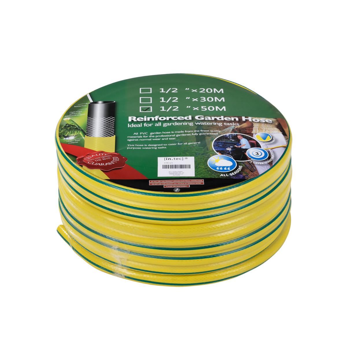 ] Tuyau d'eau 3 lagig 1/2″ 50m Tuyau d'arrosage Bewässerungs tube
