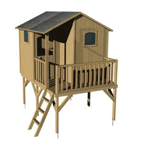 Maisonnette bois Tiphaine SOULET , 5.01 m² |