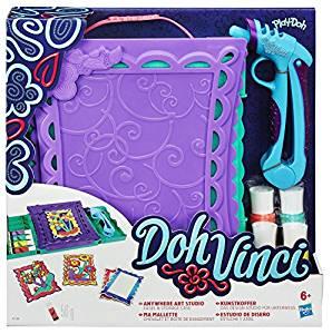 Play Doh A7198eu40 Loisirs Créatifs Doh Vinci Mallette