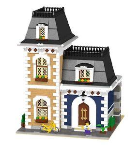 sur LEGO Custom Modular Old House 10185 10197 10218 10224 10232 10243