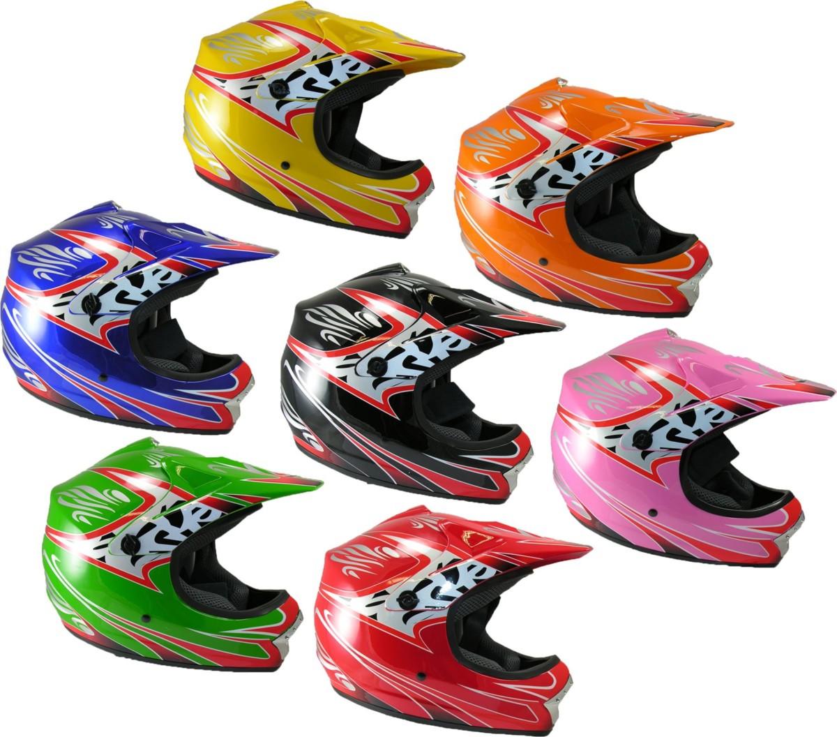 Casque MOTOCROSS Pour Enfants Moto Cross Vélo de Montagne BMX ATV