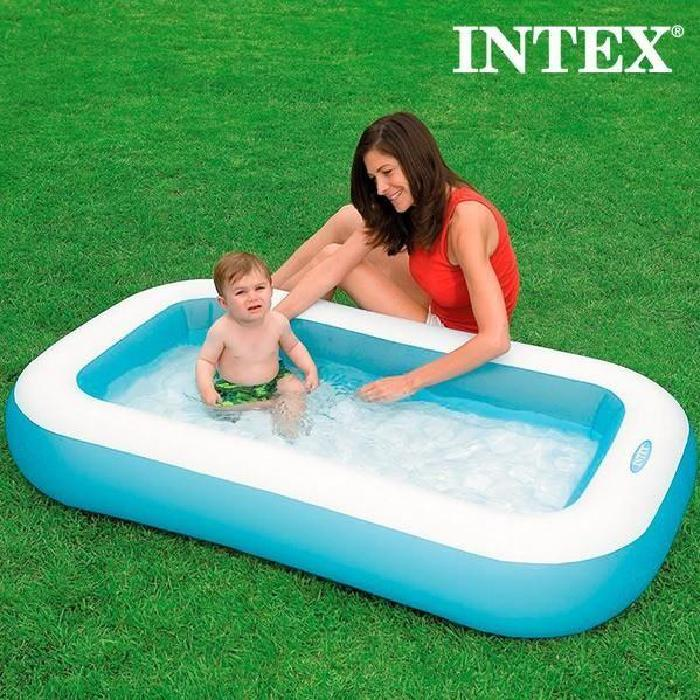 Piscine Gonflable pour Enfants Rectangle Intex Achat / Vente