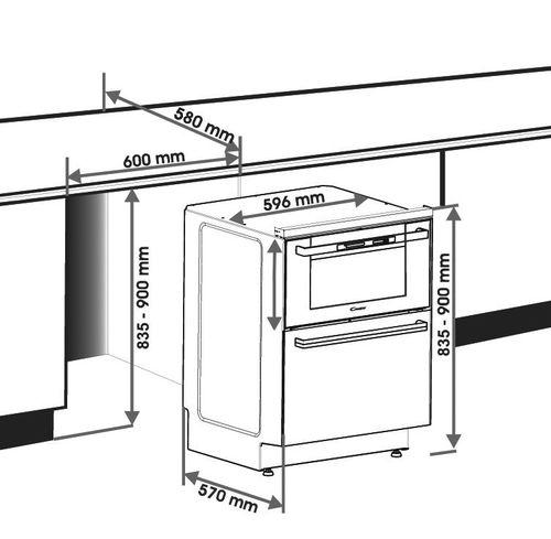 Lave vaisselle Cuisson Encastrable Duo609X Achat Lave vaisselle
