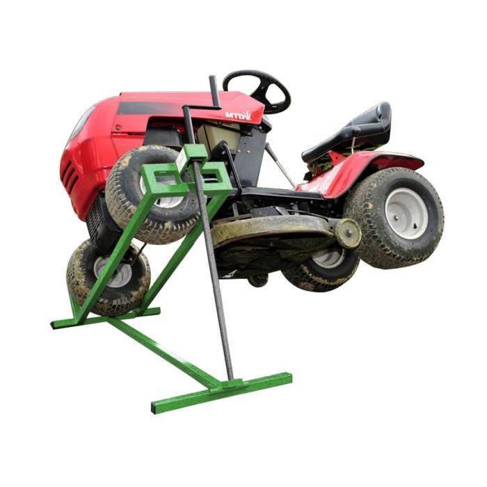 Cric lève tracteur tondeuse à manivelle Achat / Vente cric Cric