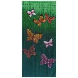 Rideau de Porte Bambou Papillon: Cuisine & Maison
