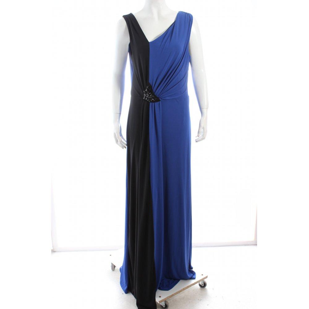 MANGO Robe de soirée bleu noir élégant Dames T 42