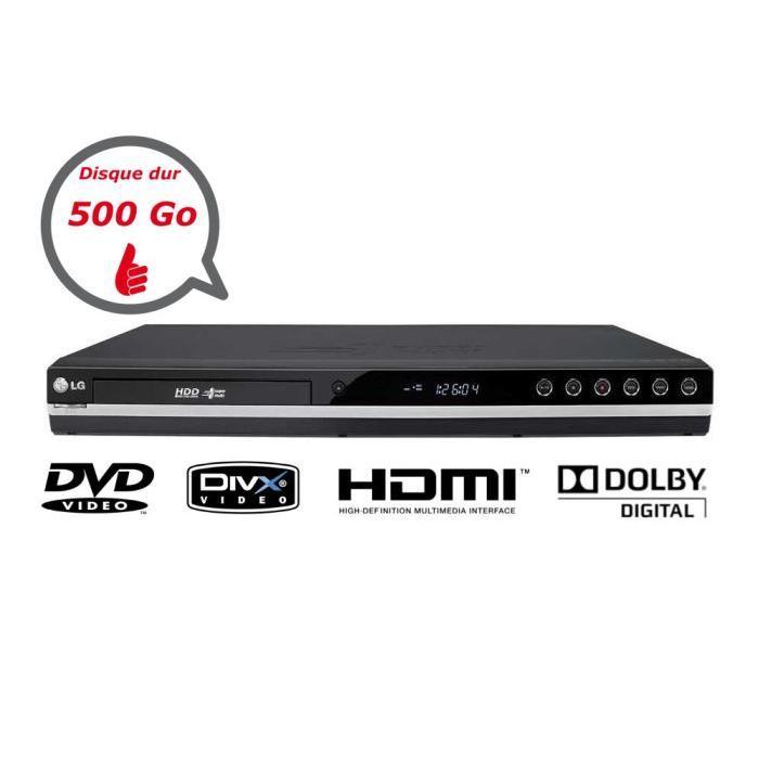 LG RH589H Lecteur/ Graveur DVD lecteur hd dvd, prix pas cher