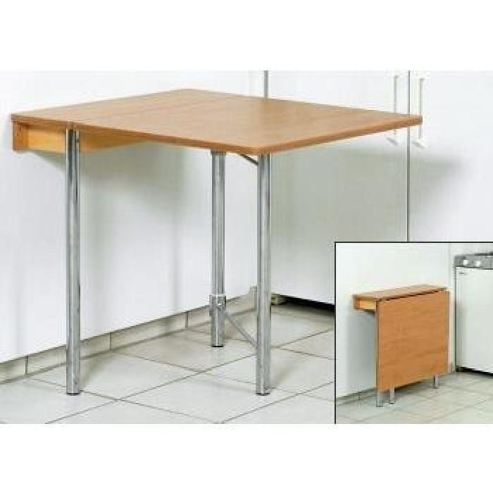Table rabattable murale topiwall - Table cuisine escamotable ...
