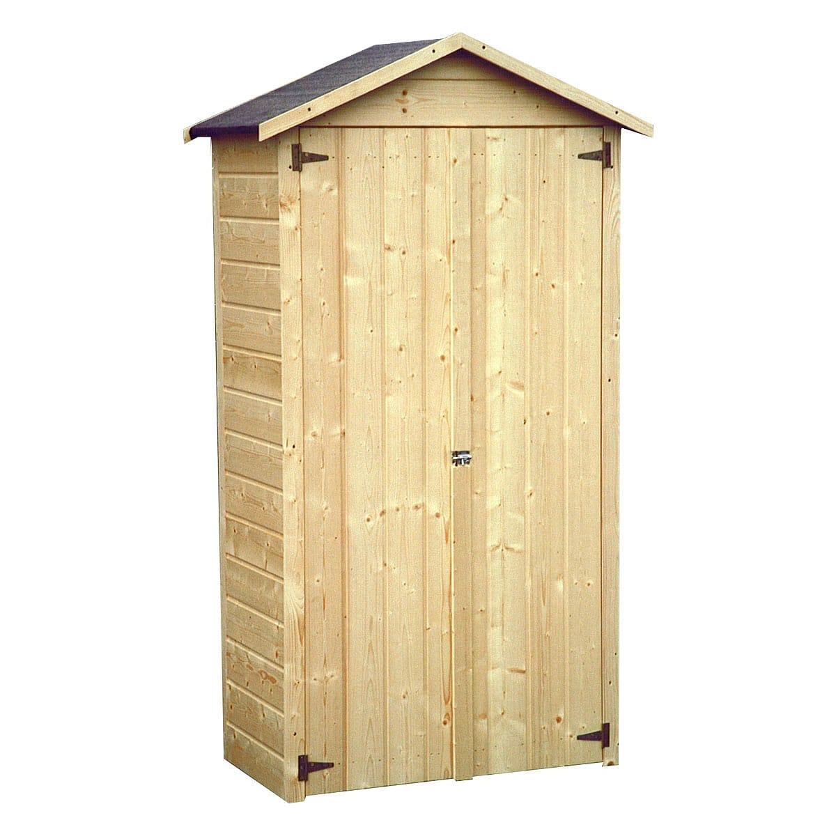 Abri de jardin bois Salla 0.45m² pas cher à prix