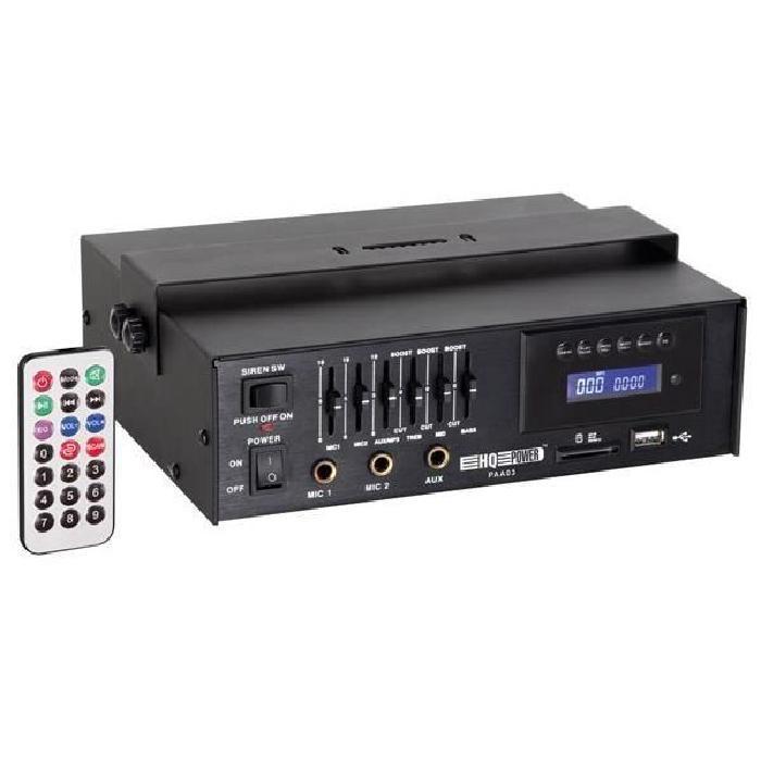 AMPLIFICATEUR PA 15W rms AVEC USB/SD ampli puissance, avis et prix