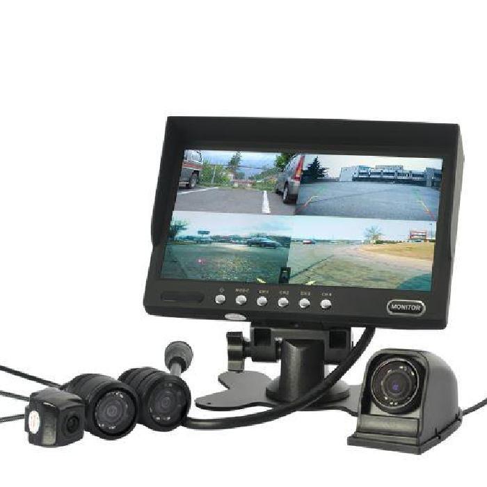 Kit 4 Caméra de recul / Moniteur frontal 7 (Imp? Achat / Vente