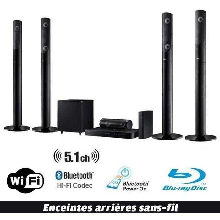 SAMSUNG HT J5440W Home Cinéma 5.1 1000W Blu ray ensemble home