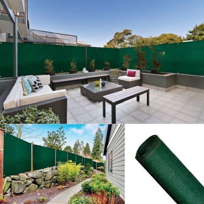 5x10m Pro Achat / Vente clôture grillage Brise Vue Renforce 1
