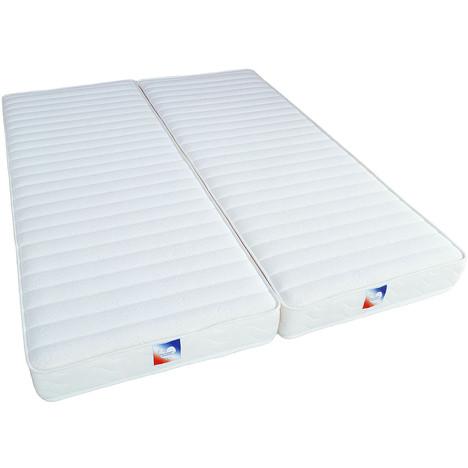 matelas mousse mémoire de forme pour lit relaxation 160 x 200 cm