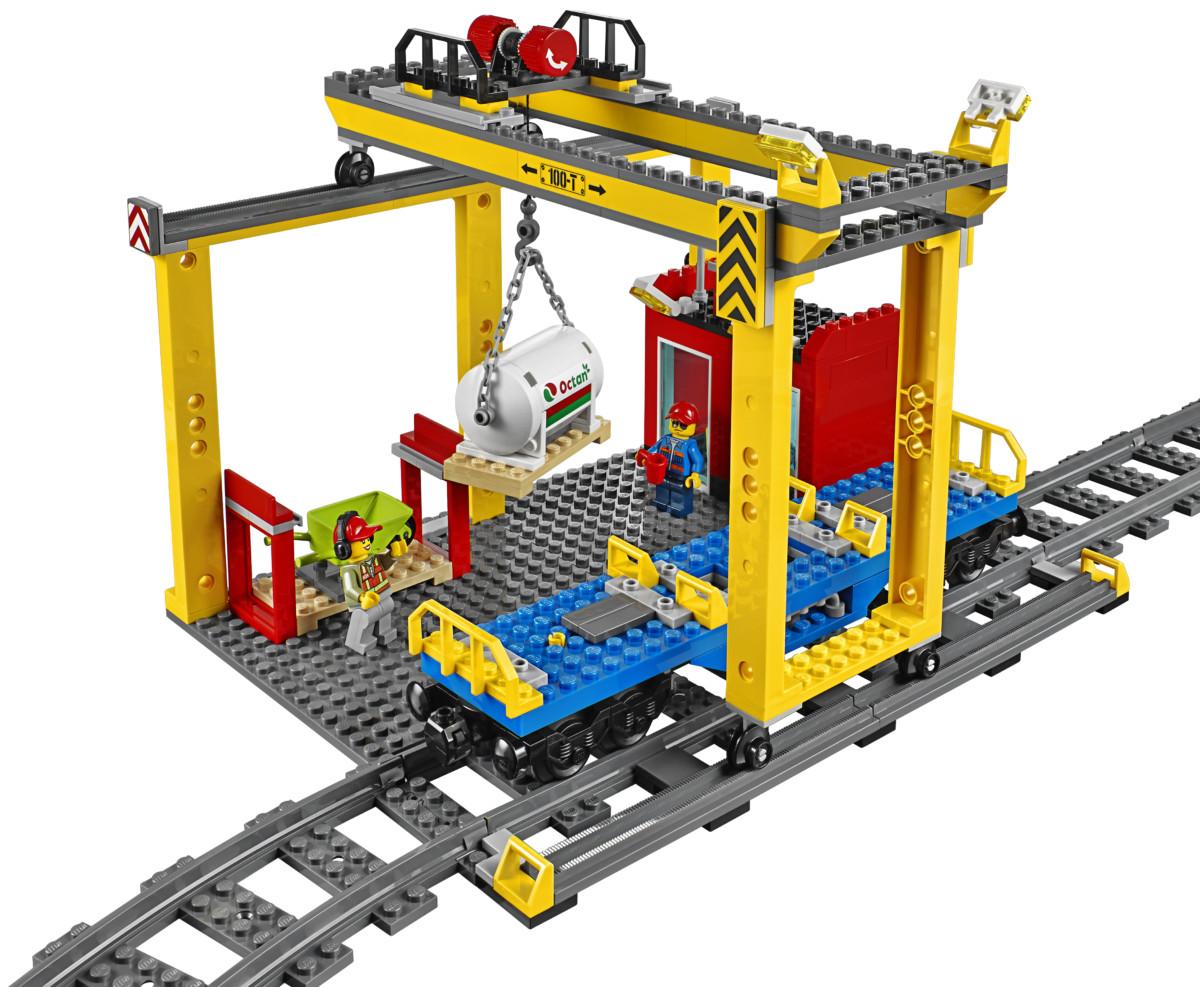 LEGO® City 60052 Le Train de Marchandises Achat / Vente assemblage