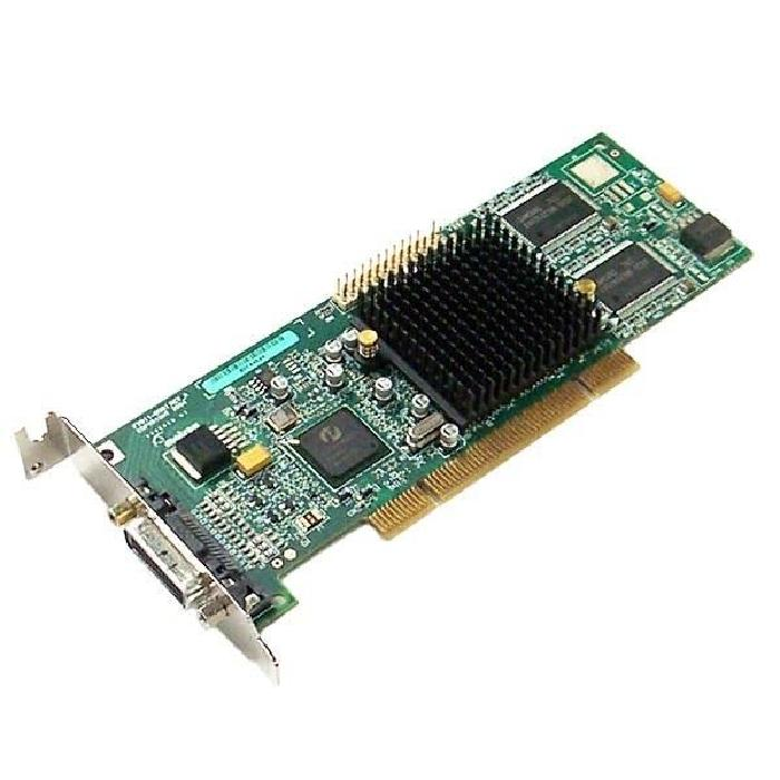 Carte Graphique Low Profile MATROX G550 32Mo DDR PCI DMS 59