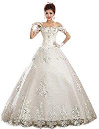de mariée princesse Robes de soirée Robe de mariage en Mousseline de
