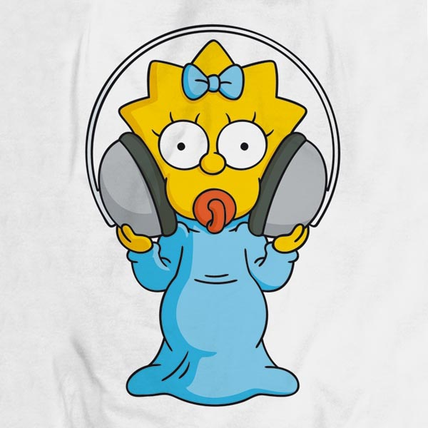 The simpsons MAGGIE simpson tank top grand BD frontprint personnage