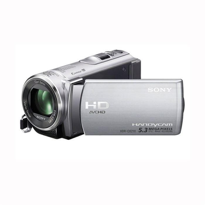 Caméscope SONY HDR CX 210 Silver Achat / Vente caméscope