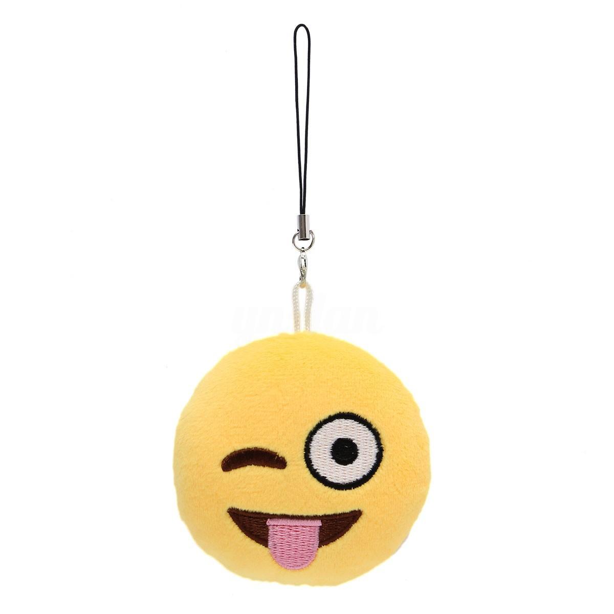 Mignon Coussin Emoji Doux Oreiller Jaune émoticônes Smiley Poupée