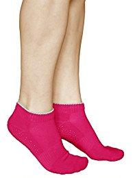 chaussette antidérapante Femme : Vêtements