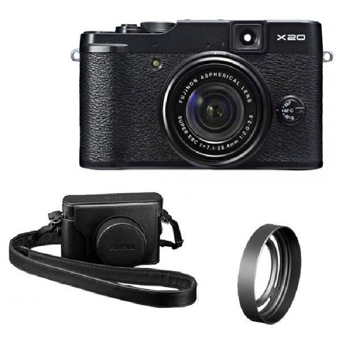 FUJI X20 Noir + ETUI + PARESOLEIL Achat / Vente appareil photo