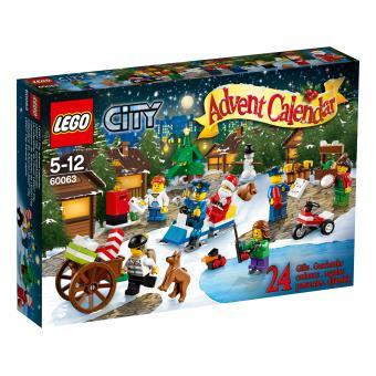 LEGO® City 60063 Le calendrier de l?Avent LEGO® City Lego