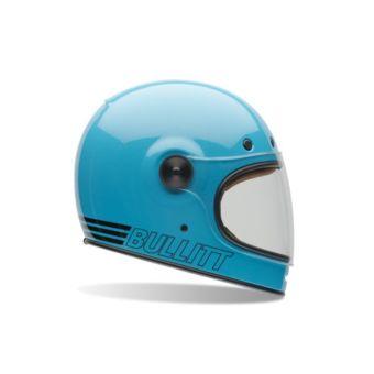 Bell Bullitt Retro Blue Bleu pas cher Achat / Vente Casques