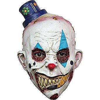 Masque clown enfant effrayant halloween: Vêtements et