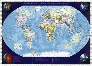 sur Notre monde Schmidt Puzzle 2000 pièces Carte du Monde Puzzle