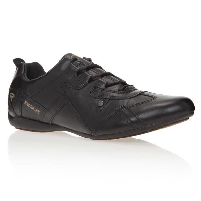 Chaussures Homme homme Noir Achat / Vente REDSKINS Baskets Boxi Homme