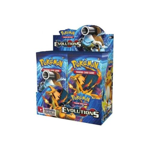 Display De 36 Boosters Pokémon Xy 12 Evolutions Version Française