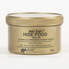 Hide Food (250g 1Kg) Crème Cire Nourrissante Cire Selle Cheval