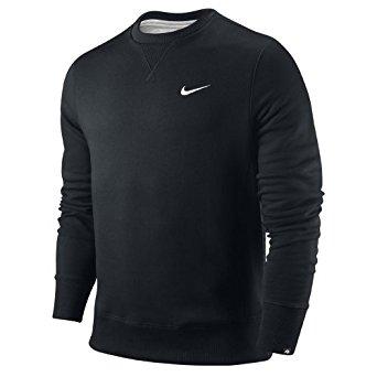 Nike Pull Sweatshirt Coton Pour Homme Noir, S