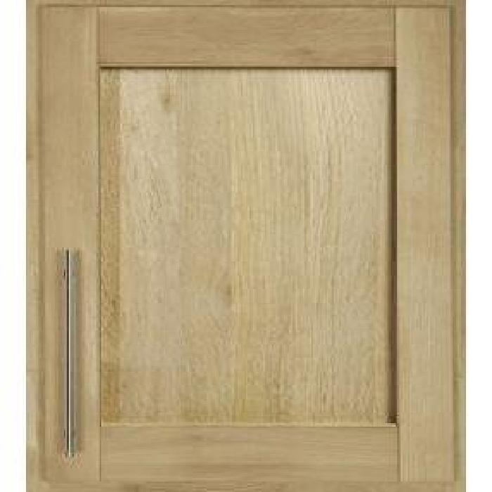 de meuble de cuisine Porte en chene massif (Cadre et panneau centrale