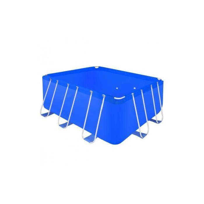 acier 400x207x122 cm Achat / Vente piscine Piscine rectangulaire