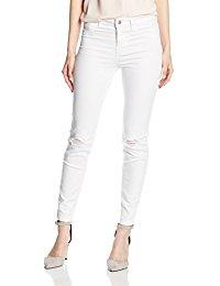 Blanc Jeans / Femme : Vêtements