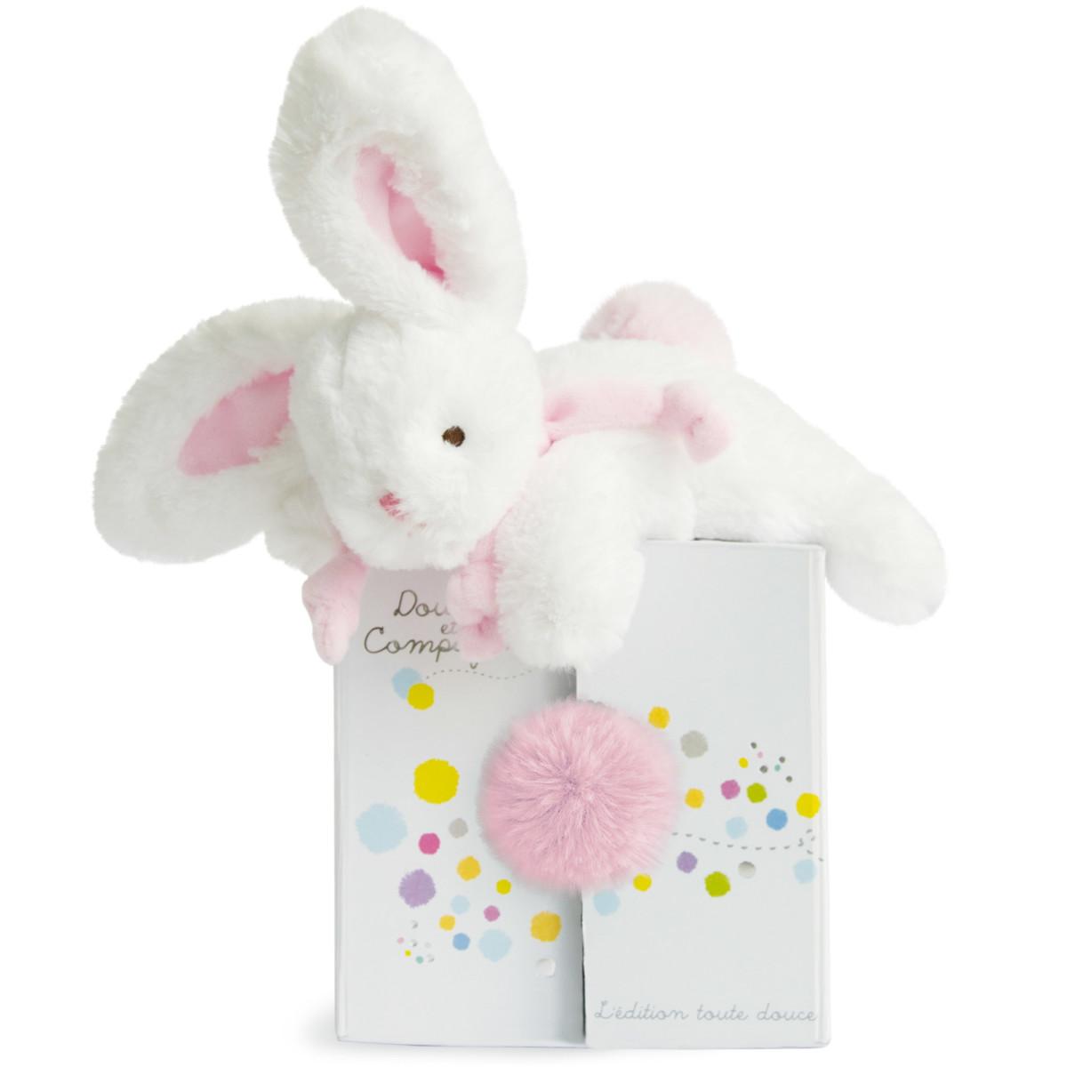 Coucou doudou lapin de Doudou et compagnie, Doudous : Aubert