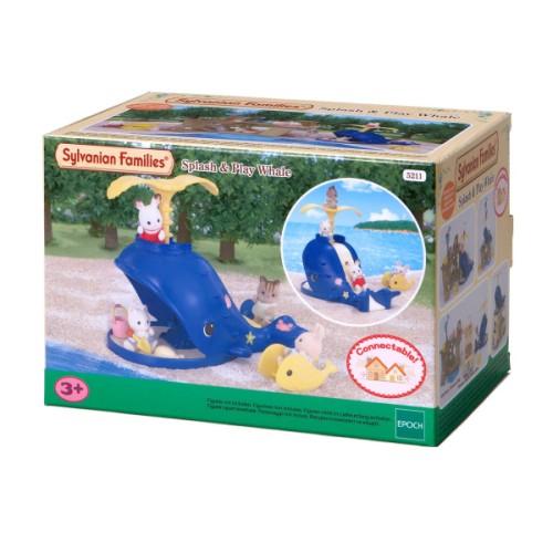 Bac à sable Baleine Sylvanian pour enfant de 3 ans à 7 ans Oxybul