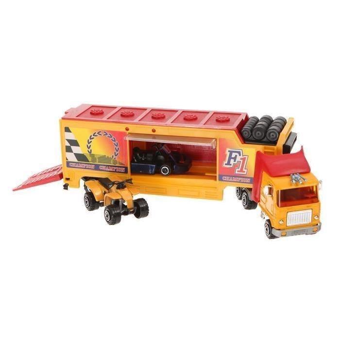 Achat / Vente voiture camion MAJORETTE Camion Jaune