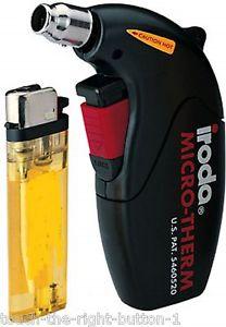 Flameless Heat Gun Cordless Gas Heat Shrink Tubing Torch Micro Hot Air