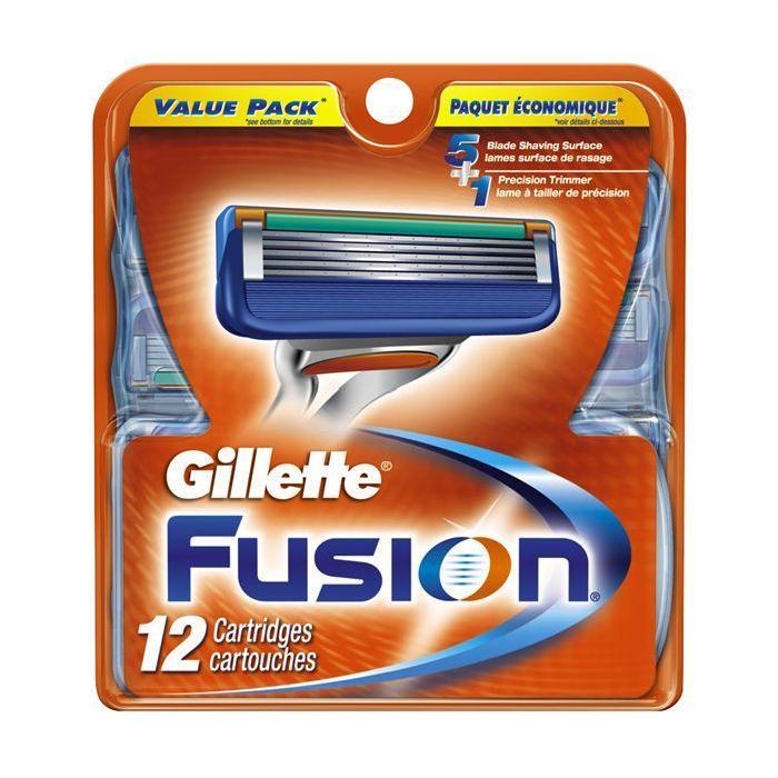 LAMES GILLETTE FUSION 12 recharges Achat / Vente lame de rasoir