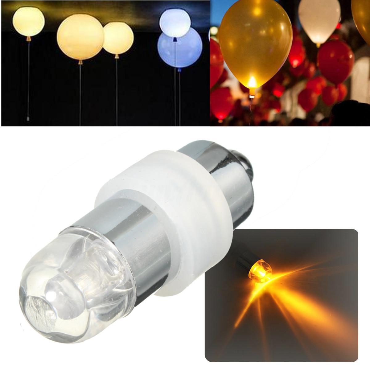 Etanche Lampe LED Ballon Ampoule Pour Décoration Mariage Anniversaire