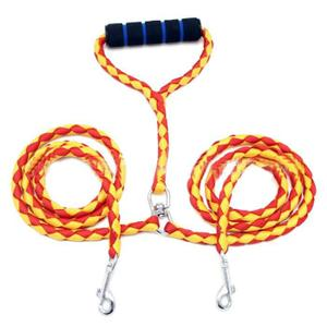 HARNAIS ANIMAL Hicollie® 2 Voie Rouge + Jaune Double Chien Animal
