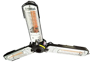Alpina AL Sf9360 Radiateur de Terrasse 2000 W pour Pied de Parasol