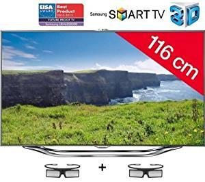 Samsung UE46ES8000QXZT TV LCD 46 » (117 cm) LED 1080p pixels 800 Hz